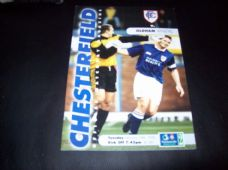 Chesterfield v Oldham Athletic, 1997/98